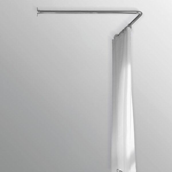 Duschdraperistång vinkel Sanova Loke