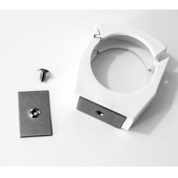 Limbricka för rörhållare för inomhusavlopp samt utloppsats/spilltratt 2-pack