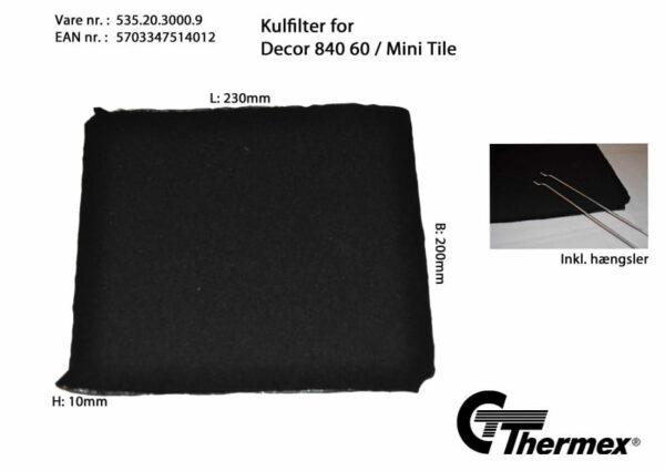 Thermex Kolfilter till Vertical 840