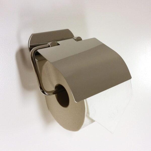 Toalettpappershållare med lock Design4Bath Profile Line