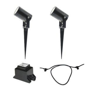 LED Utomhusbelysning Luna Black Start Pack Plug & Play (12 V)