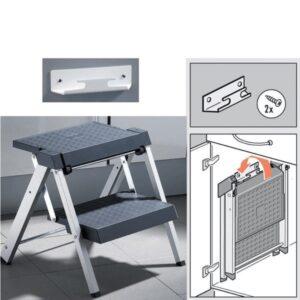 Hopvikbar stege i aluminium
