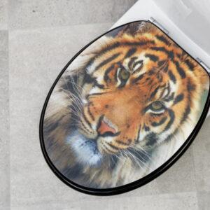 Kandre toalettsits Kan Deco Tiger 3D