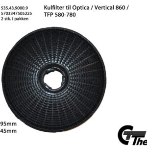 Thermex Kolfilter till Optica/Vertical 860 2-pack