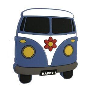 Knopp till Barnrum Hippiebuss