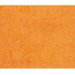 Badrumsmatta Highland orange 70×120 cm