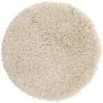 Badrumsmatta Highland L.sand 60 cm rund
