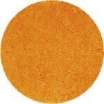 Badrumsmatta Highland orange 60 cm rund