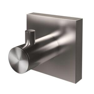 Krok Nyo-Steel enkel brushed 762356-LEASP-C Spirella