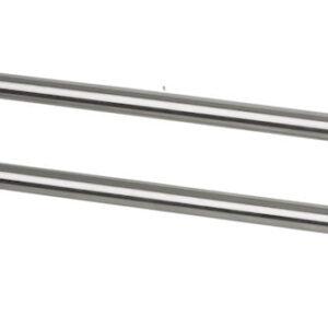 2-arms handduksstång Spirella Nyo-Steel brushed 10.03175-LEASP Spirella