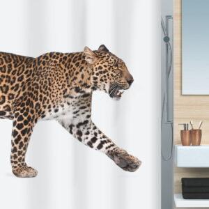 Duschdraperi Spirella Leopard beige-black 180x200 cm 10.17085-LEASP Spirella
