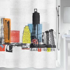 Duschdraperi Spirella Gotham multi 180x200 cm 000010-SMM Smarthem Collection