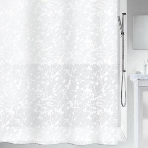 Duschdraperi Spirella Bang white 180x200 cm