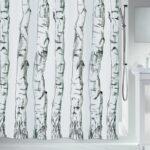 Duschdraperi Spirella Wood