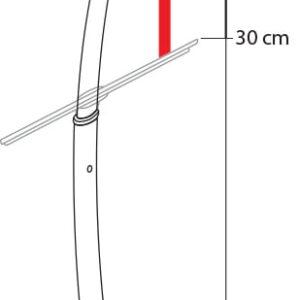 Duschskrapa Spirella Sedona Stainless Steel 412854-LEASP-C Spirella