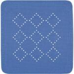 Halkskyddsmatta Alaska El.blue 55×55 cm