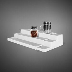 Förvaringshylla Stege Justerbar för Kryddor och Burkar Madesmart 29308-DAAMA Madesmart