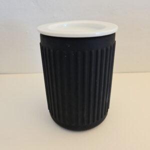 Rode Bath Daily soft line canister med lock silikon 769045-LEASP-C Spirella
