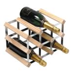 Vinställ Utbyggbart Vinförvaring RTA Traditional 9 Flaskor 3×2 Natur / Galvaniserat stål