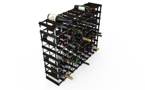 90 Flaskor 10x8 Svart ask/ Galvaniserat stål