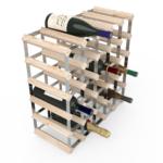 Vinställ Utbyggbart Vinförvaring RTA Traditional 30 Flaskor 5×5 Natur / Galvaniserat stål