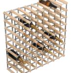 Vinställ Utbyggbart Vinförvaring RTA Traditional 72 Flaskor 8×8 Natur / Galvaniserat stål