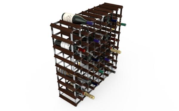 72 Flaskor 8x8 Mörkfärgat / Galvaniserat stål