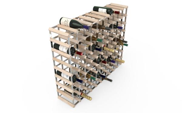 90 Flaskor 10x8 Natur / Galvaniserat stål
