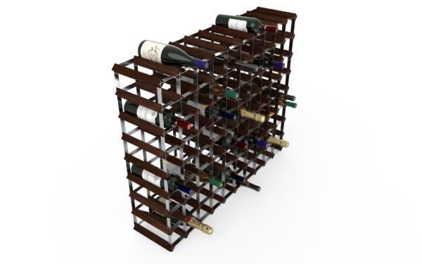 90 Flaskor 10x8 Mörkfärgat / Galvaniserat stål